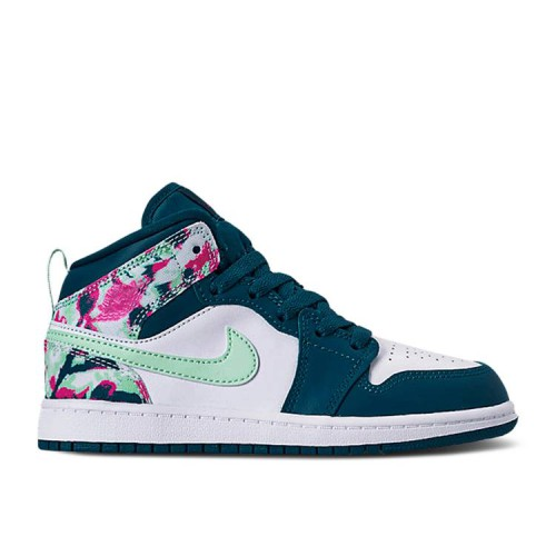Air Jordan 1 Mid PS 'Green Abyss Frosted Spruce'