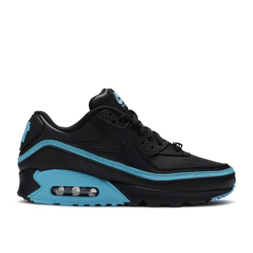 Undefeated x Air Max 90 'Black Blue Fury'