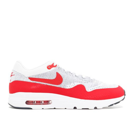 Air Max 1 Ultra Flyknit 'White University Red'