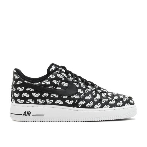 Air Force 1 Low '07 QS 'All Over Logo Black'