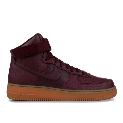 Wmns Air Force 1 High SE 'Night Maroon'