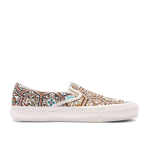 KITH x Classic Slip-On 'Brown Moroccan Pattern'