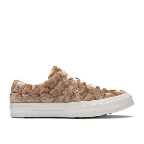 Golf Le Fleur x One Star 'Quilted Velvet Brown'