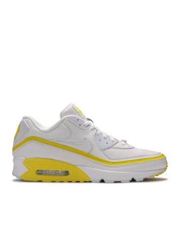 Undefeated x Air Max 90 'White Optic Yellow'