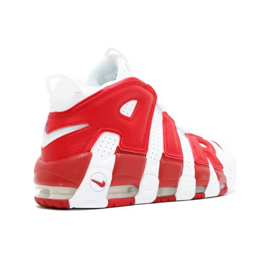 Air More Uptempo 'White Red'