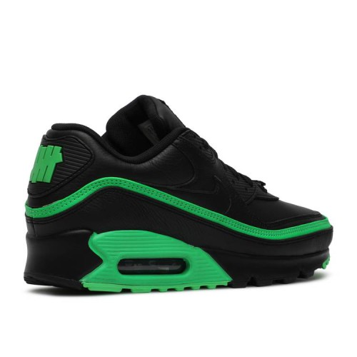 Undefeated x Air Max 90 'Black Green Spark'