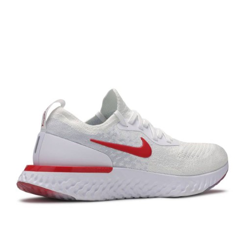 Epic React Flyknit GS 'White University Red'