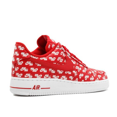 Air Force 1 Low 07 QS 'All Over Logo Red'