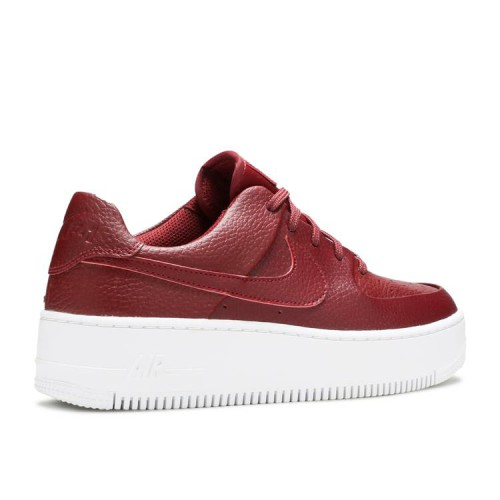 Wmns Air Force 1 Sage Low 'Team Red'