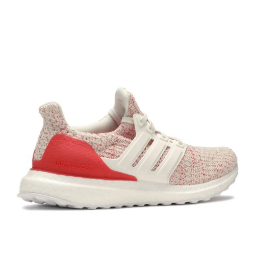 UltraBoost 4.0 J 'Chalk White Active Red'