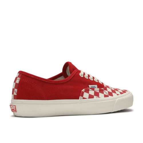 OG Authentic LX 'Racing Red Checkerboard Toe'
