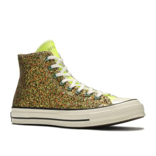 JW Anderson x Chuck 70 High 'Glitter Pack - Gold Silver'