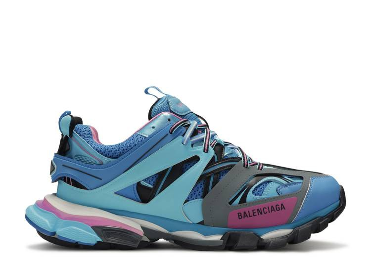 Balenciaga Track Trainer 'Light Blue Pink'