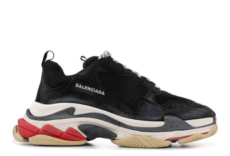 Balenciaga Triple S Trainer 'Black' 2018